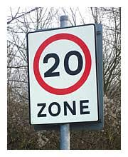 20mph speed limits?!? A bit excessive, no?