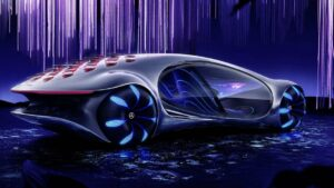 James Cameron hooks up with Mercedes-Benz to create an Avatar car…