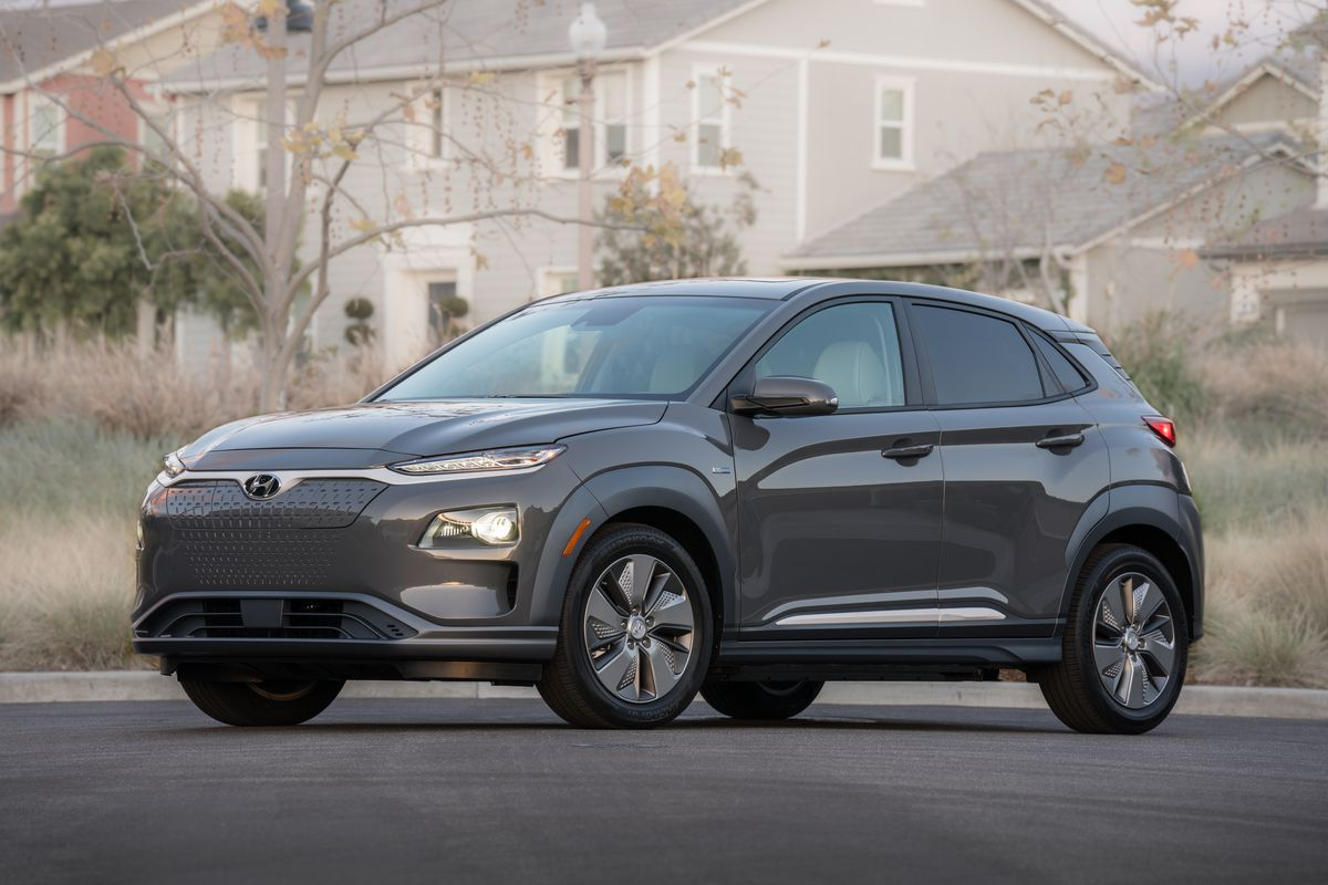 The Hyundai Kona EV