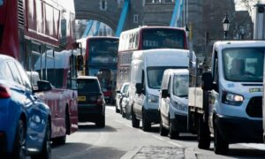 Is congestion in London any better with fewer private cars on the roads?
